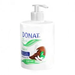 Мыло жидкое DONAT Clean Кокос 500 мл с дозатором