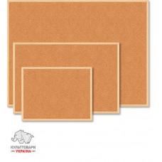Доска пробковая BuroMax 60х45 см деревянная рамка (BM.0013)