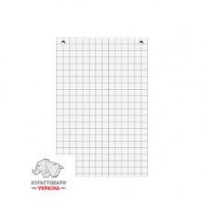 Бумага для флипчарта Axent 64х90 см 70 г/м2  клетка (8061-A)