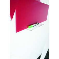 Полочка акриловая для стеклянных досок 2x3 клейкая основа (AS126)