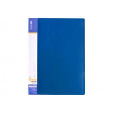 Папка-скоросшиватель Economix А4 Clip A Light пластиковая цвет синий (E31207-02)
