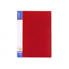 Папка-скоросшиватель Economix А4 Clip A Light пластиковая цвет красный (E31207-03)