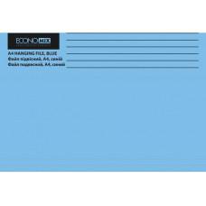 Файл (Папка, обложка) подвесной для картотеки Economix А4 картонный синий (E30202-02)