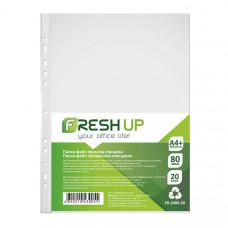 Файл  Fresh UP А4+ 80 мкм прозрачный /в упак. 20 штук/ (FR-2080-20)