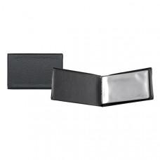 Визитница Axent на 20 визиток черная (2501-01-A)