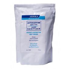 Антисептические салфетки влажные 100 штук, сменный блок Arnikа (30506)