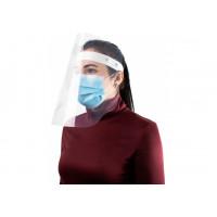 Экран-маска защитная прозрачная, крепление на ленте кнопками (E30855)