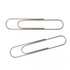 Скрепки прямые никелированные Axent 78 мм 50 штук (4103-А)
