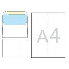 Конверт почтовый С6 /114х162 мм/ СКЛ офсет 100 штук (1040)