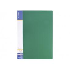 Папка с прижимом Economix Light А4 Clip B пластик зеленая (E31208 -04)
