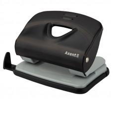 Дырокол Axent Exakt-2 20 листов металлический черный (3920-01-A)