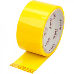 Лента клейкая упаковочная Axent 48 мм х 35 метров желтая (3044-08-a)