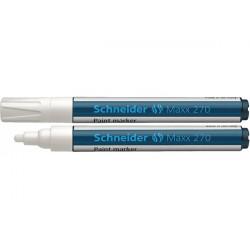 Маркер для декоративных и промышленных работ  Schneider MAXX 270 2-3 мм белый (S127049)