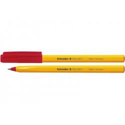 Ручка шариковая Schneider Tops 505 F красная (S150502)