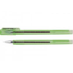 Ручка гелевая Economix Piramid 0,5 мм зеленая (E11913-04)