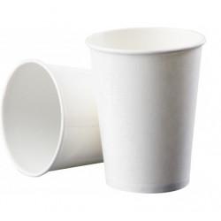 Стакан бумажный белый PRO service 110 мл 50 штук (43110200)