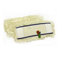 Запаска для швабры МОП хлопковая 40х15 см с карманами (NZS028)