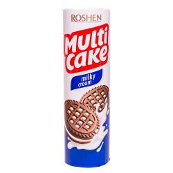 Печенье-сэндвич Roshen Multicake с начинкой молочно-кремовой 180  г