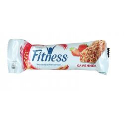 Батончик Nestle Fitness с цельными злаками и клубникой 23,5 г