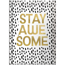 Ежедневник датированный А5 на 2022 Brunnen Стандарт Графо Stay awesome (73-795 68122)