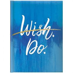 Ежедневник датированный А5 на 2022 Brunnen Стандарт Графо Wish.Do (73-795 68152)