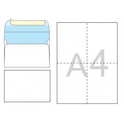 Конверт почтовый С6 /114х162 мм/ СКЛ офсет 25 штук (1040)