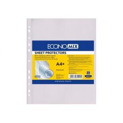 Файл  Economix А4+ 30 мкм прозрачный 20 штук (Е31111)