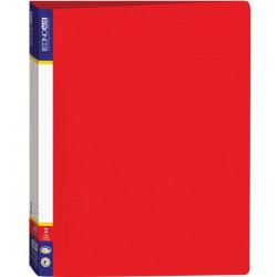 Папка 2 кольца Economix А4 ширина 3,6 см пластик цвет красный (E30701-03)