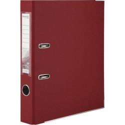 Папка-регистратор 5 см Axent А4 с односторонним покрытием цвет вишневыйй (D1713-37C)