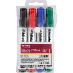 Набор маркеров для доски Axent 2 мм 4 цвета (D2800-40)