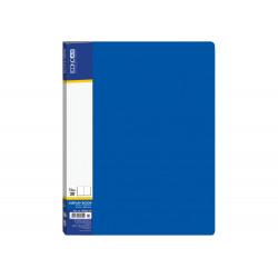 Дисплей-книга  Economix А4 20 файлов пластиковая синяя (E30602-02)
