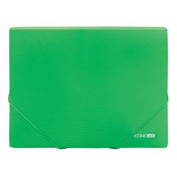 Папка на резинке Economix А4 пластик зеленая (E31601-04)