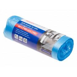 Пакеты для мусора ProService 60 л синие HD 40 шт (16113200)