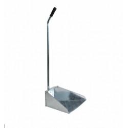 Совок оцинкованній с длинной ручкой 34х17х74 см (A11725)