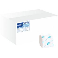 Бумага туалетная Tischa 2-х слойная листовая 226 листов (B-308)