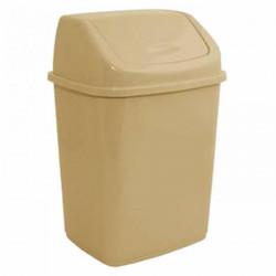 Ведро для мусора с поворотной крышкой 14 л (04680)