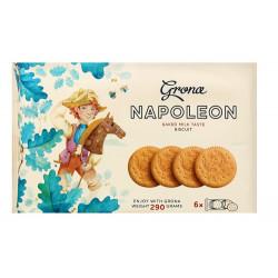 Печенье Grona Наполеон со вкусом топленого молока 290 грамм