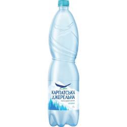 Вода Карпатська джерельна негазированная ПЭТ 1,5 л