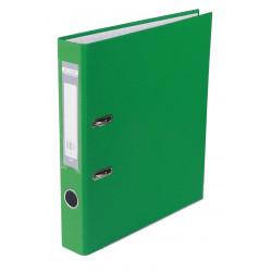Папка-регистратор 5 см BuroMax А4 с односторонним покрытием цвет зеленый (BM.3012-04c)