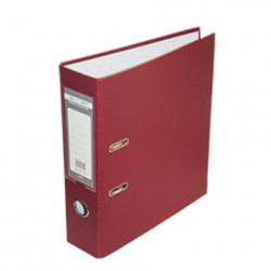 Папка-регистратор 5 см BuroMax А4 односторонняя цвет бордо (BM.3012-13c)