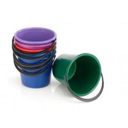 Ведро пластиковое цветное 5 л (03116)