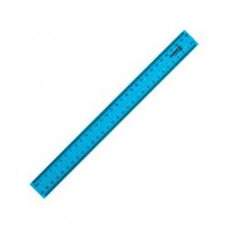 Линейка 30 см пластиковая Axent синяя (d9800-03)