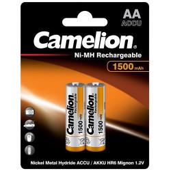 Аккумулятор Camelion AA 1500mAh Ni-MH R6-2BL /в блистере 2 штуки/