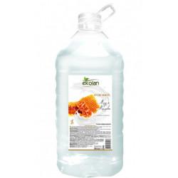 Мыло жидкое EcoLan Мед-молоко 5 л ПЭТ