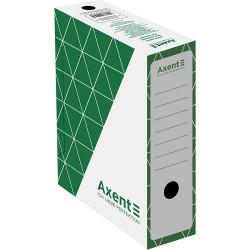Папка-бокс для архивации Axent ширина 10 см гофрокартон зеленый (1732-04-a)