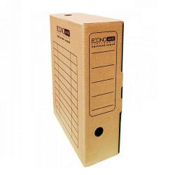 Папка-бокс для архивации Economix ширина 10 см гофрокартон коричневый (E32704-07)