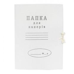 Папка на завязках картонная А4 0,35 мм (100501)