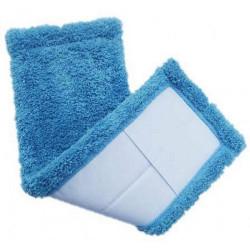 Насадка сменная МОП Eco Fabric для держателя микрофибра 42х11 см голубая (EF1902Blue)