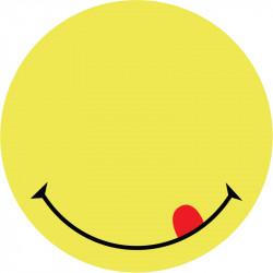 Блок бумаги с липким слоем Smile Axent 70х70 мм 50 листов желтый (2444-02-А)