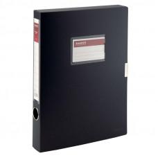 Папка-бокс на липучке Axent А4 ширина 3,6 см пластик черный Арт. 1736-01 02504